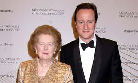 As a young man David Cameron