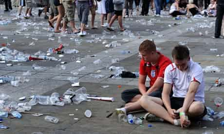 Dejected English football fans take stock after Sunday