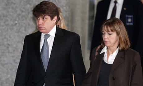 Rod Blagojevich does not have to report to federal prison until 16 February. Photograph: M Spencer Green/AP