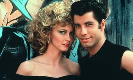 Olivia Newton-John and John Travolta in Grease. Photograph: Cine Text/Sportsphoto Ltd./Allstar