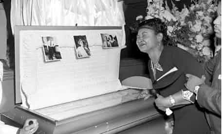 Mamie Till Mobley at her son