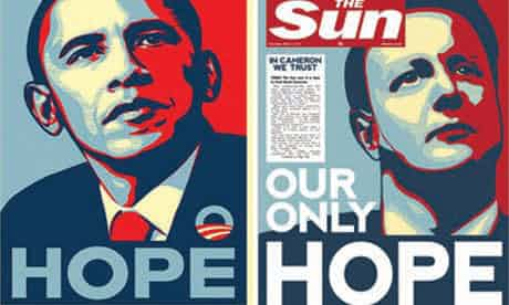 The Sun channelled Barack Obama