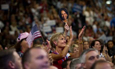 Delegates at the Republican convention in August. Photograph: Benjamin J Myers/ Benjamin J Myers/Corbis