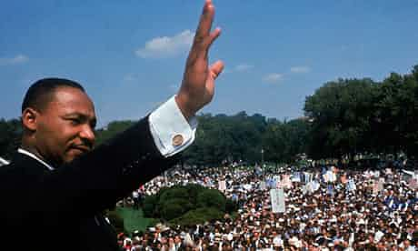 Martin Luther King in Washington DC. Photograph: Time & Life Pictures/Getty Image