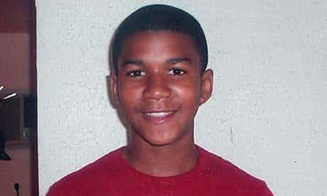 Trayvon Martin, who was shot dead in February last year. Photograph: Reuters