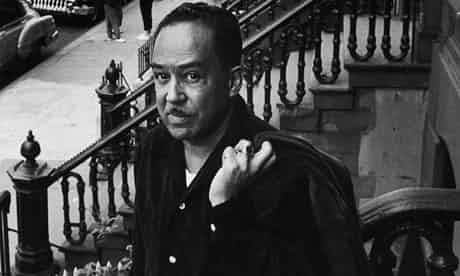 Langston Hughes on the front steps of his house in Harlem, New York City in 1958. Photograph by Robert W Kelley/Time & Life Pictures/Getty Images