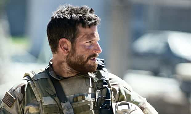 Bradley Cooper as Chris Kyle in American Sniper. 'What makes the west different is the force with which it simultaneously makes its case for superiority and contradicts it.' Photograph: Keith Bernstein/Allstar/Warner Bros