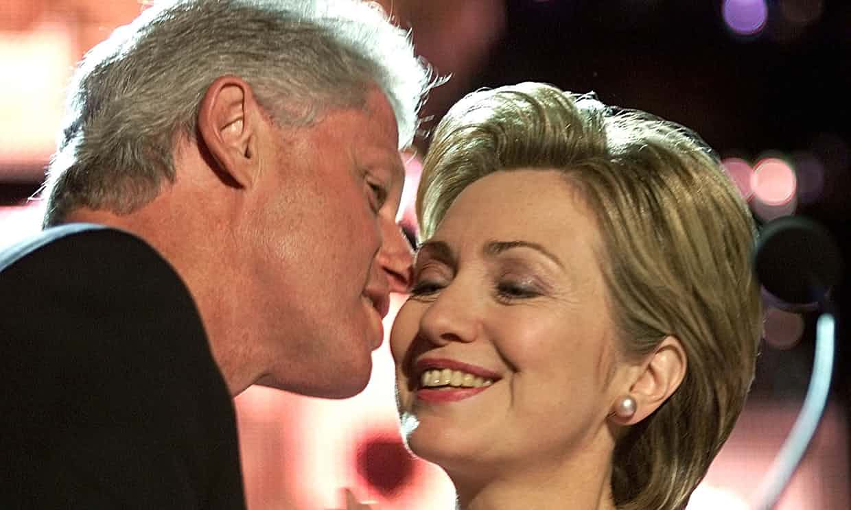 'Bill Clinton has always been both a huge liability and asset to Hillary's political aspirations.' Photograph: Reuters