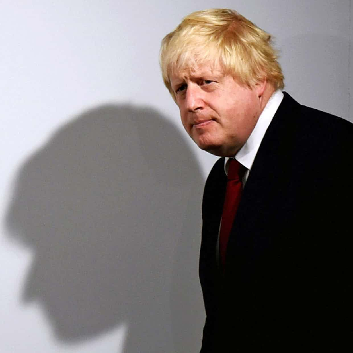 Boris Johnson the day after the EU referendum vote, which his leave campaign won. Photograph: Reuters