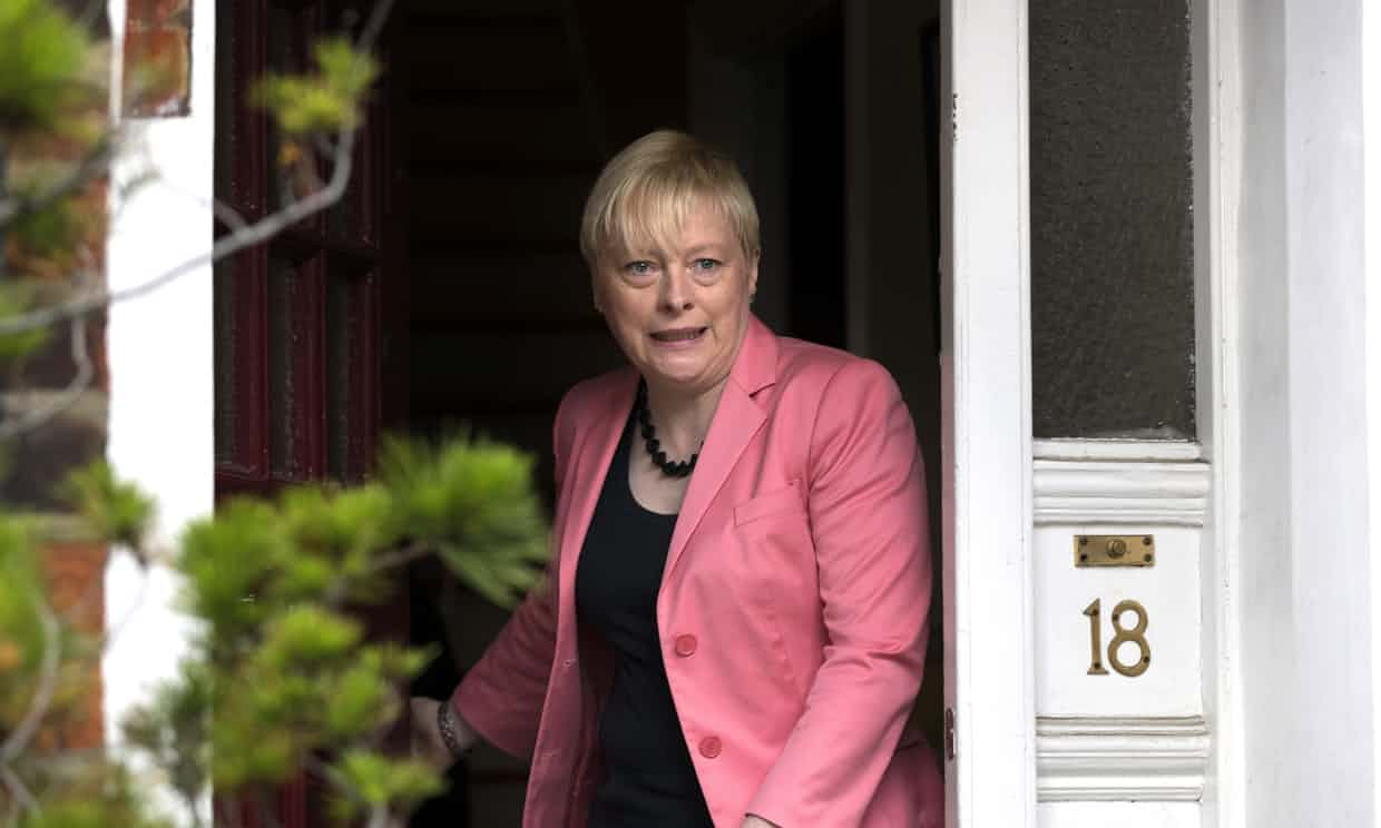 Angela Eagle: 'I'm not a Blairite. I'm not a Brownite. I'm not a Corbynista. I am my own woman.' Photograph: Carl Court/Getty Images