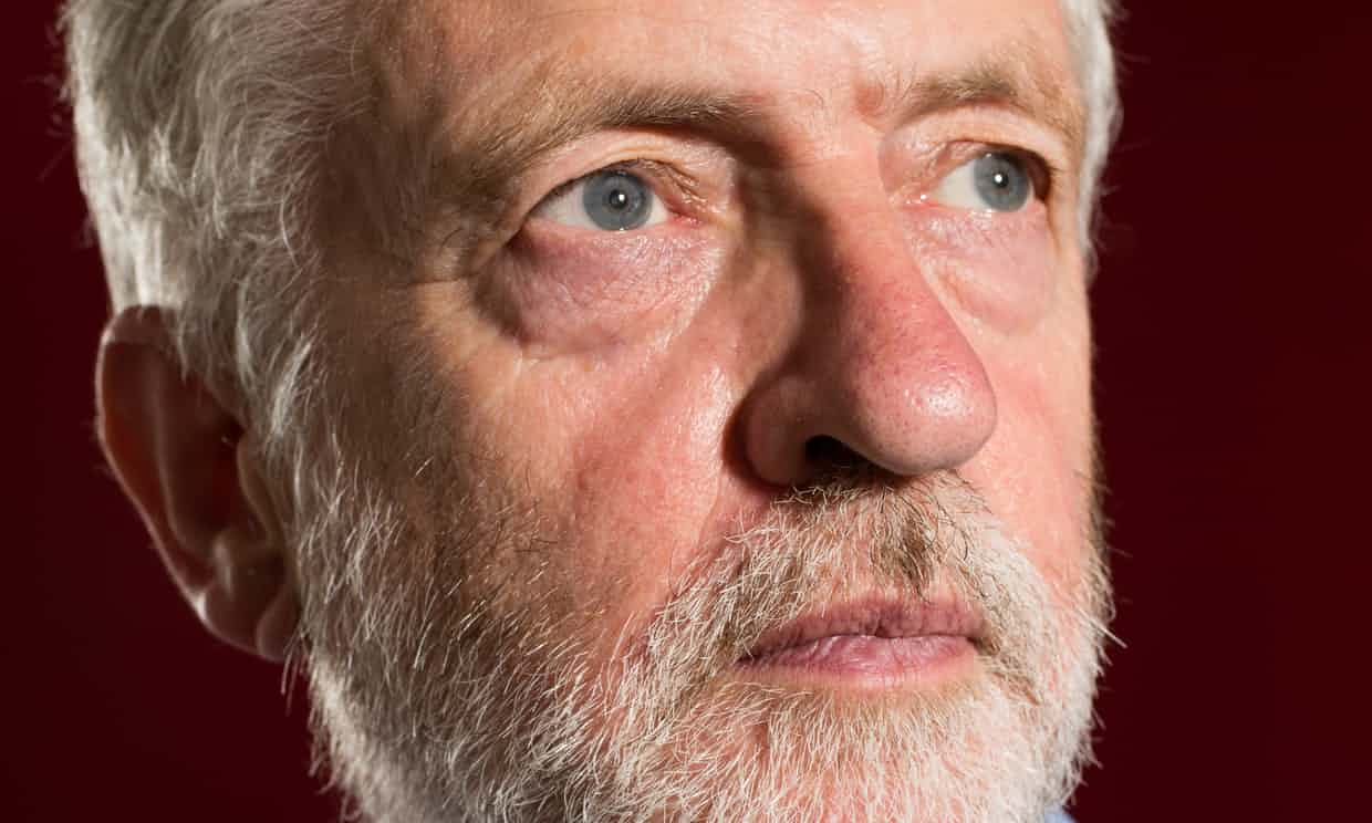 Jeremy Corbyn Photograph: Harry Borden for the Guardian