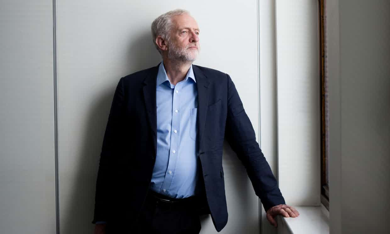 Jeremy Corbyn says he hopes to appeal to the 'best natures' of Labour MPs if he wins the vote. Photograph: Harry Borden for the Guardian