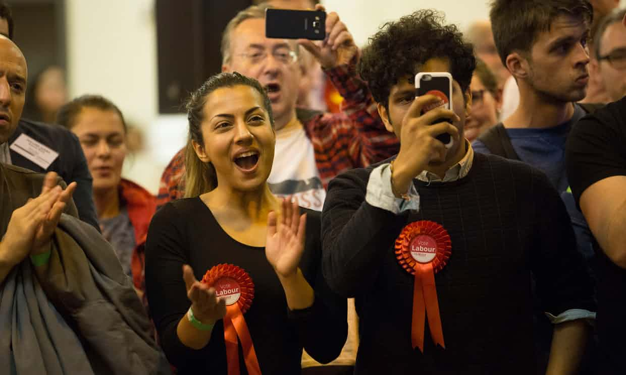 In Harrow West, Labour doubled its majority. Photograph: Graeme Robertson for the Guardian