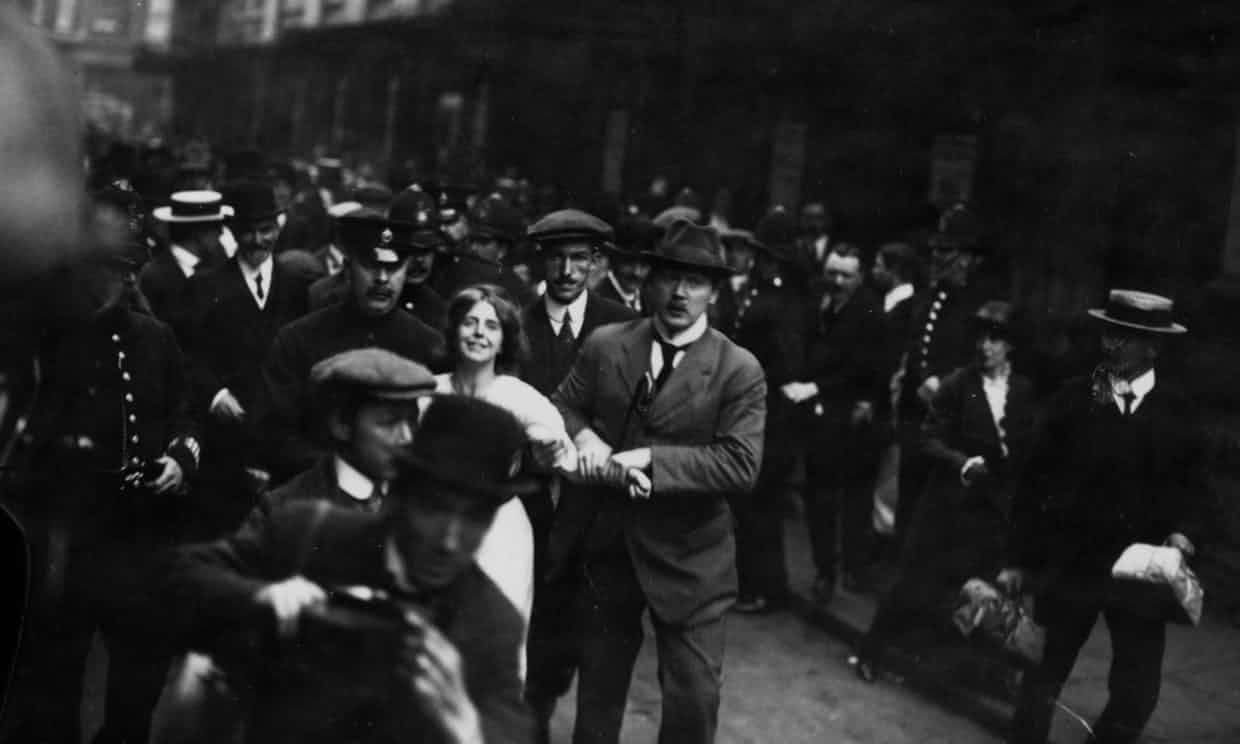 'Even those who supported suffrage at the time would routinely condemn activists such as Annie Kenney.' Photograph: Hulton Archive/Getty Images