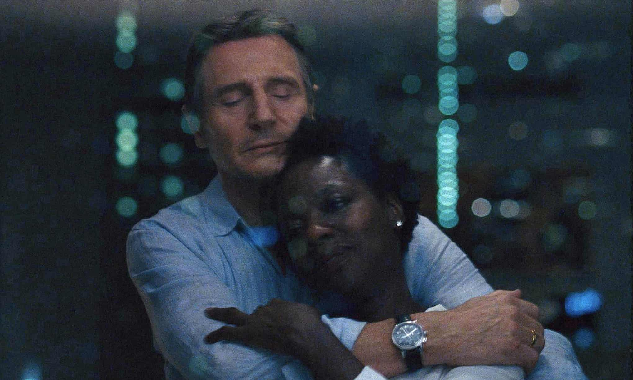 Liam Neeson and Viola Davis in Widows.  Photograph: Allstar/Film4