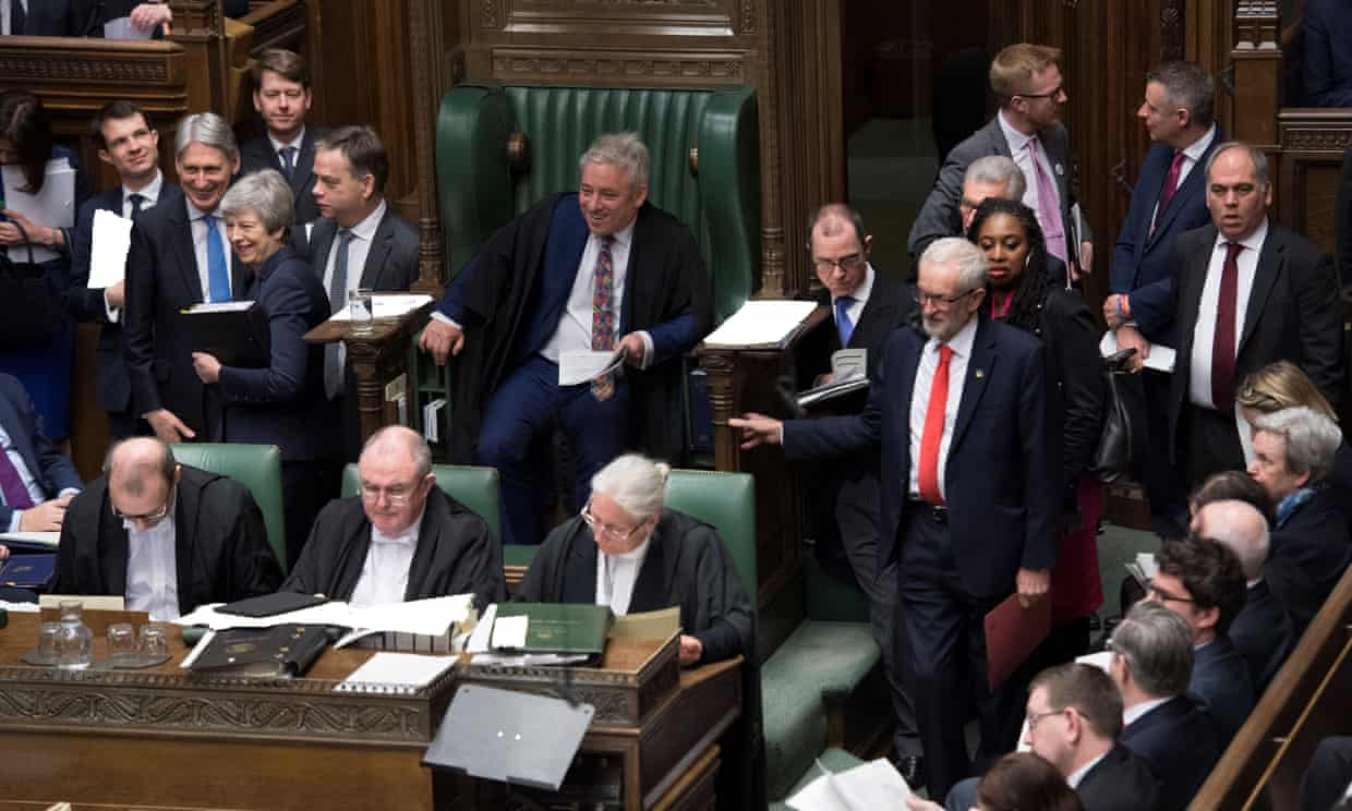 The House of Commons on Wednesday March 27. Photograph: Reuters