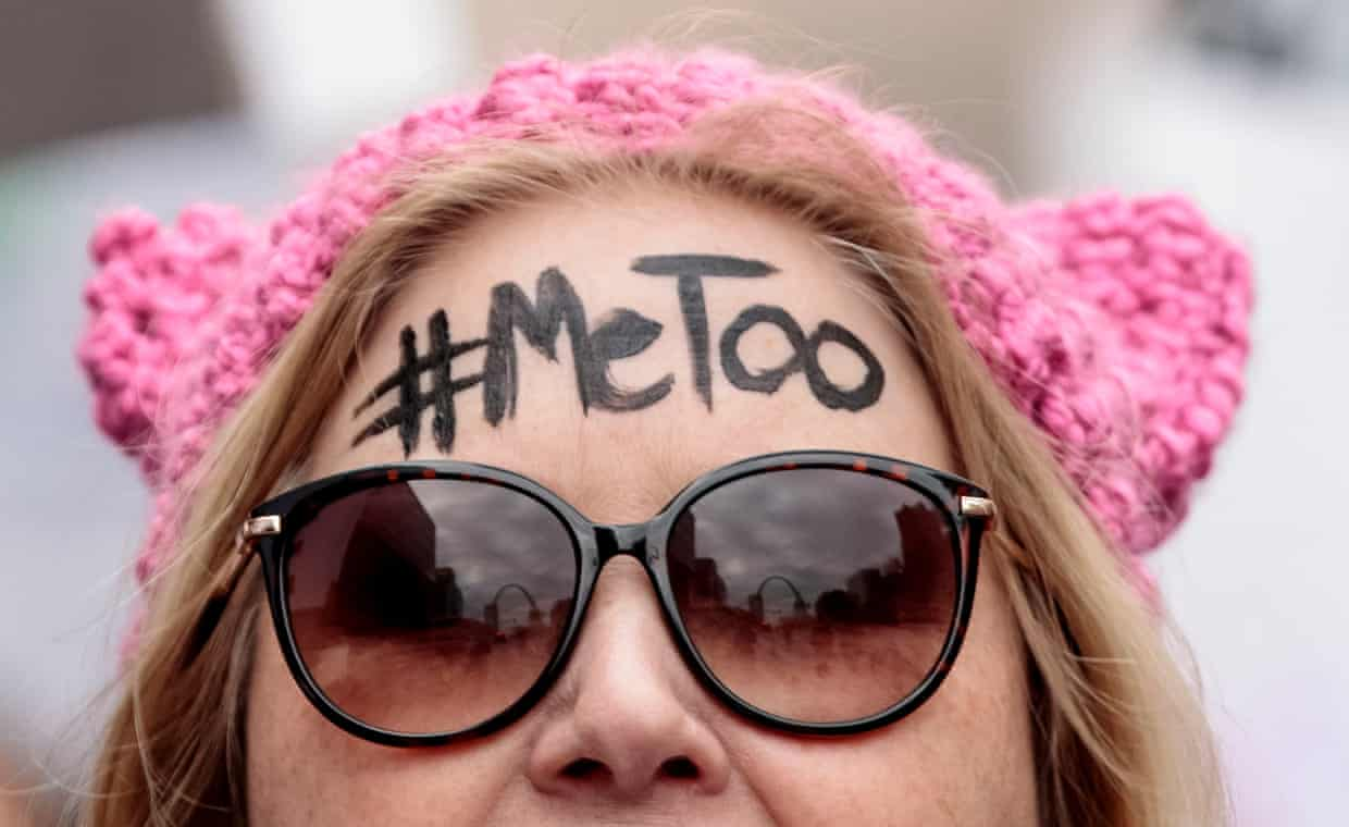On the Women's March for Truth in St Louis, Missouri, US, in January 2018. Photograph: Getty Images