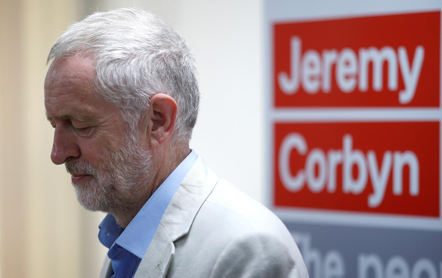 Jeremy Corbyn, leader of the UK